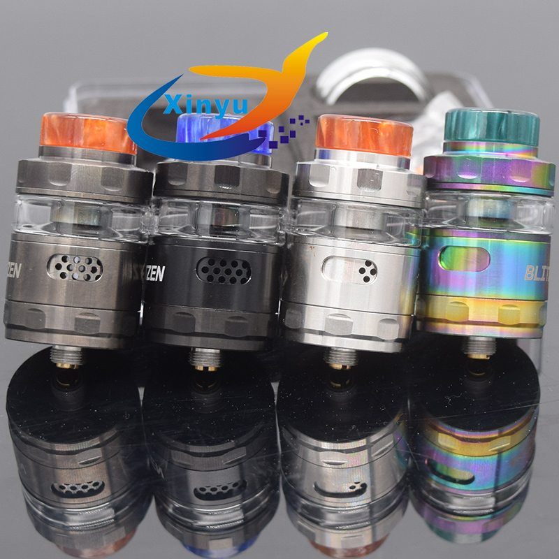 SUB TWO Blitzen RTA Atomizer 24mm Capacity 2ml/5ml For E-Cigarette 510 Thread Battery Box Vape Mod Vs Zeus X RTA Kayfun Lite Rta