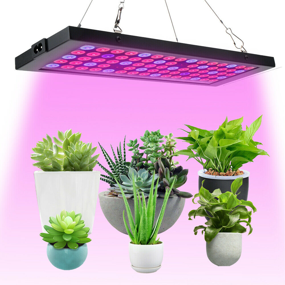 15W LED Grow Light Hanging Panel Plant Growing For Hydroponic Aquatic Indoor