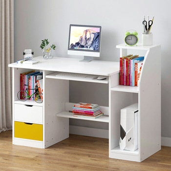 En nombre de la Mesa de ordenador minimalista moderna mesa de escritorio económica estilo europeo del Norte dormitorio hogar mesa pequeña