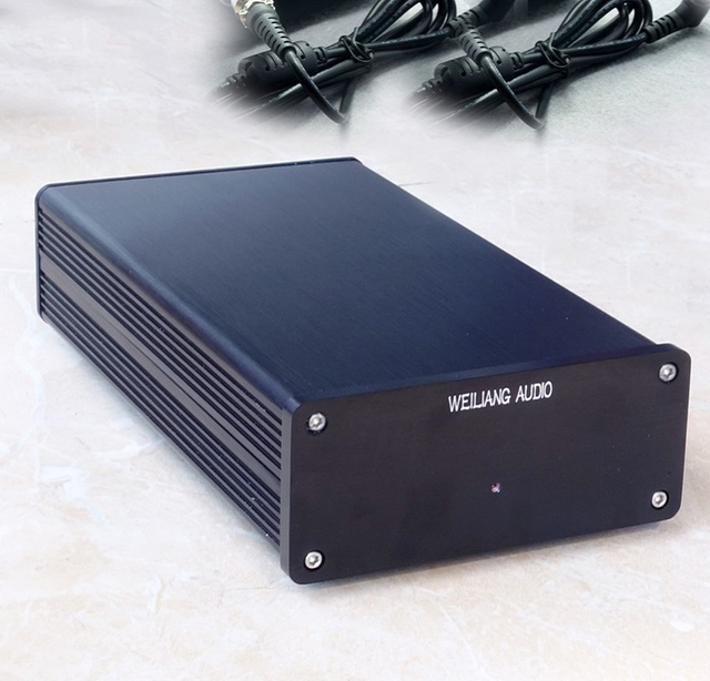 WEILIANG AUDIO 50W linear regulated power supply double output