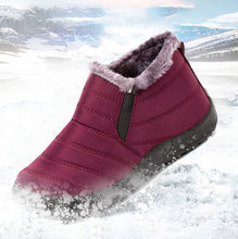 Size35-48 Women Boots Unisex Couples Snow Boots Women Ankle Shoes Ladies Boots Waterproof Shoes Keep Warm Mother Casual Boots(China)