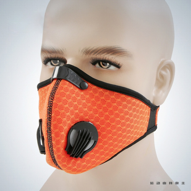 Winter Breathable Mesh Bicycle Mask Dust Smog Windproof Protective Nylon Mesh Bike MTB Cycling Half Face Mask For Motor