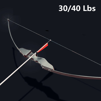 цена на Professional  Recurve Bow 30/40lbs for Right Handed Archery Bow Shooting outdoor Hunting can use   carbon arrows  arco e flecha