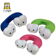 Soft U-Shaped Plush Neck Protection Pillow Lovely Dental Office Cushion Travel Pillows For Children/Adult Drop Ship Dentist Gift