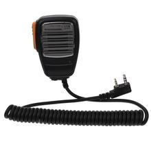 2 контакт плечо динамик микрофон для 2 способ радио рация рация домофон