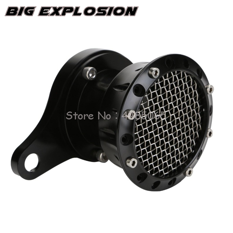 Motorcycle Air Filter  CNC Aluminum Velocity Stack Air Cleaner Intake Filter for Harley Sportster 883 1200 XL 48 2004-UP