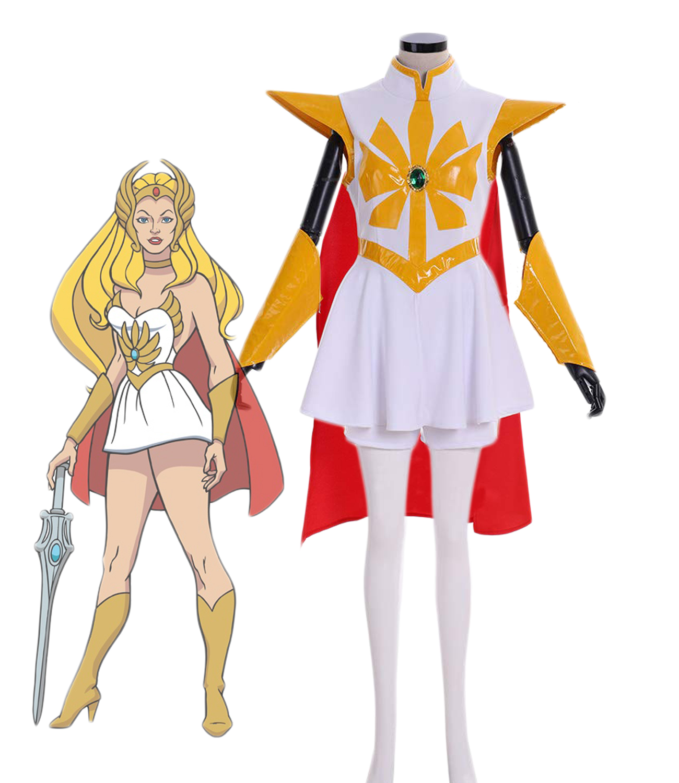 She-Ra: Princess of Power Adora Cosplay Costume She-Ra Dress Full Set Custom Made