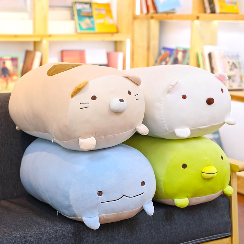 Squishy Chubby Cute Animal Plush Toy Soft Cartoon Office Lunch Break Sleep Pillow Cushion Children Doll Companion Valentine Gift