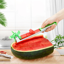 Watermelon Cutter Windmill Shape Plastic Slicer for Cutting Power Save K1018 B