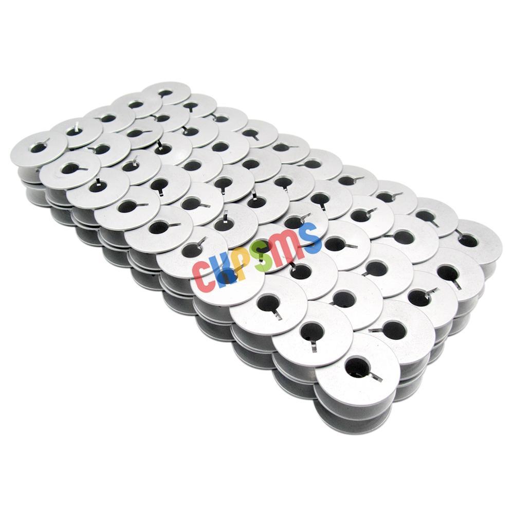 #9033A Aluminum Bobbins Fit For Pfaff 130, 229, 230, 260, 261, 332 ADLER 67 68 69 +(China)