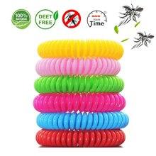 6Pcs/lot Random Color Mosquito Repellent Bracelet Anti Wristband For Kids Killer