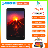 Alldocube iPlay 8T 8 inch Tablet 3GB RAM 32GB ROM 5500mAh Battery Android 10 Go WIFI 4G Phone Call LTE 2MP Camera Kids Tablet PC 1