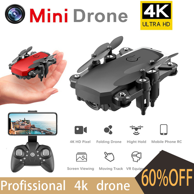 4K Drone Profissional Drone With Cameras HD Quadcopter Toys Folding Dron RC Helicopter Gps Dron Toys for Children Mini Drone Toy