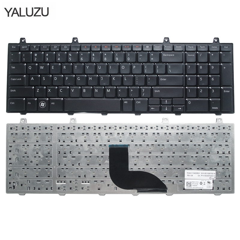 laptop accessories new keyboard for DELL studio 1735 1736 1737 1749 1745 English Laptop Keyboard black US