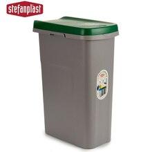 Rubbish bin Green 25L