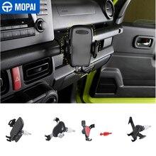 MOPAI GPS Stehen für Suzuki Jimny JB74 2019 + Auto Handy Halter Unterstützung für Suzuki Jimny 2019 + Auto zubehör