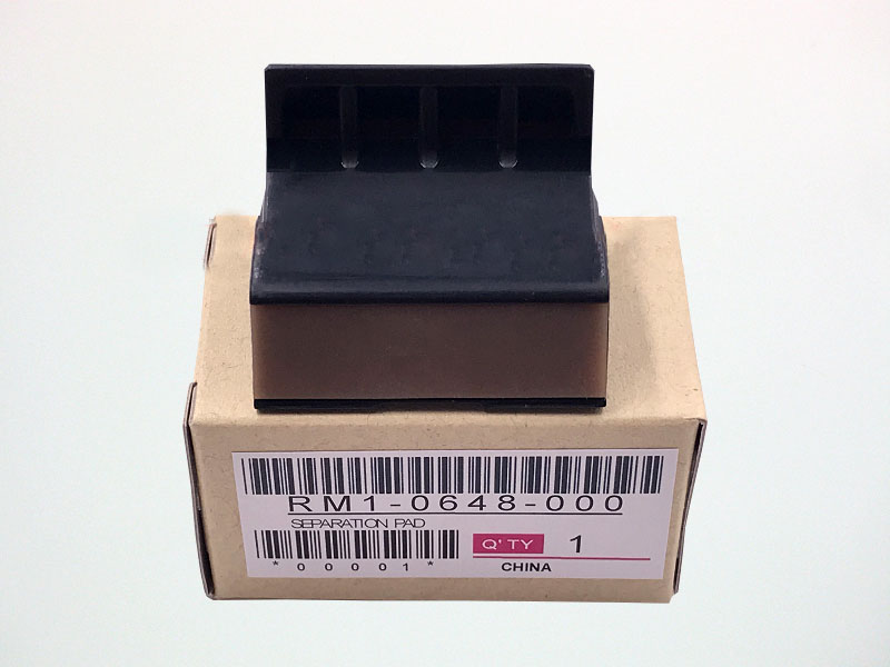 RM1-0648 Separation Pad for <font><b>HP</b></font> LaserJet <font><b>1010</b></font> 1012 1015 1018 1020 3015 3020 3030 M1005 for Canon LBP 2900 3000 image