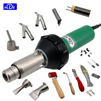 цена на HLTE 230V 2000W Plastic Welding Gun Hot Air torch heat gun Welder for PVC vinyl floor, PP, PE water tank geomembrane