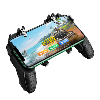 L1 R1 Game PUBG Sensitive Shoot Trigger Fire Metal Button Game Joystick PUBG Mobile Phone Controller 4.7-6.5 inches