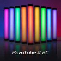 Nanlite PavoTube II 6C LED RGB Camera Light Portable Handheld Photography Lighting Stick CCT Mode Photos Video Soft video Light