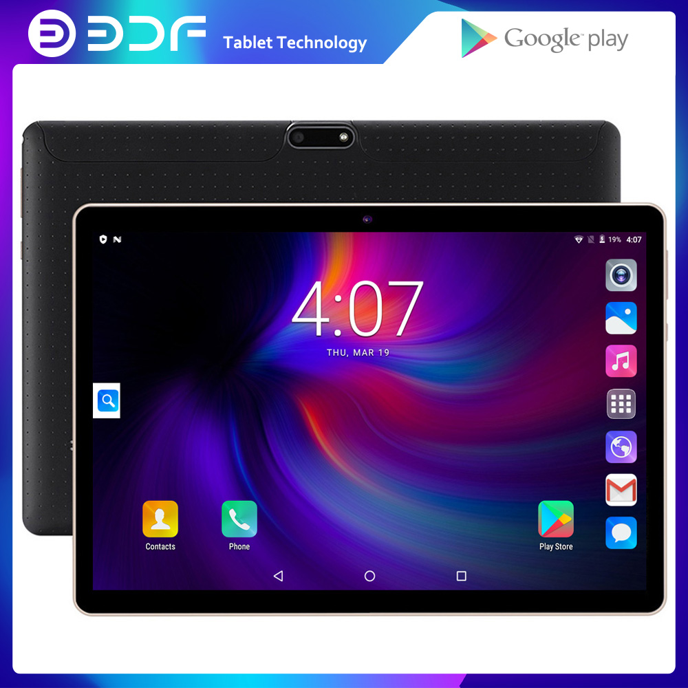 Moscow Shipping BDF 10 Inch 3G Mobile Phone Android 6.0 Quad Core  WiFi Bluetooth Dual SIM Card 2GB+32GB Tablet Google Play GPS