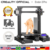 CREALITY 3D Ender 3 Pro Printer Upgraded Magnetic Build Plate Resume Power Failure Printing Masks DIY KIT Mean Well Power Supply