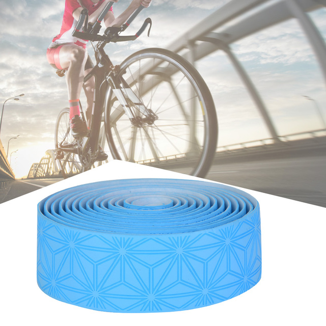 2pcs /1 Pair Road Bike Handlebars Belt High Elastic Soft Sweat Absorption Steering Tape Shock And Sweat Absorption 4