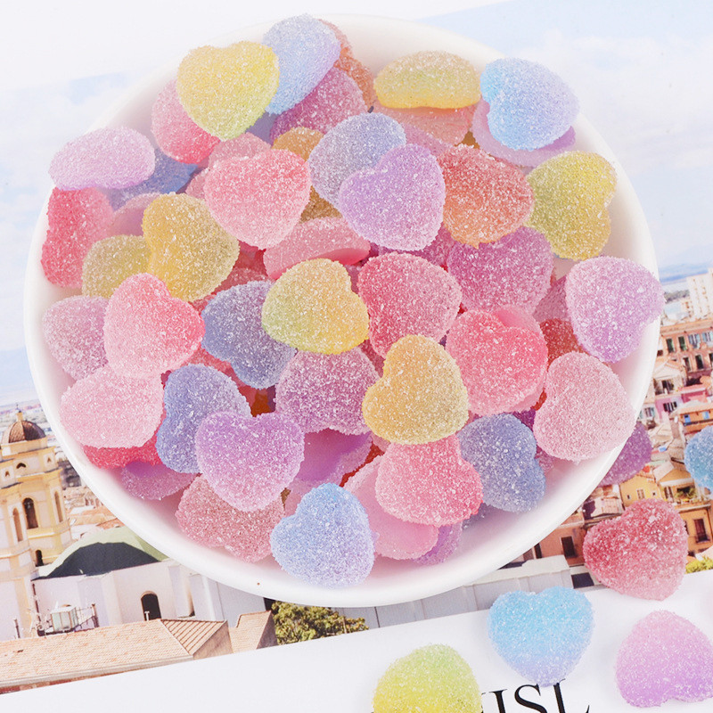 Slime charms Sweet Candy Charms For Slime Polymer Filler Addition Slime Accessories Toys Powder Modeling Clay 4