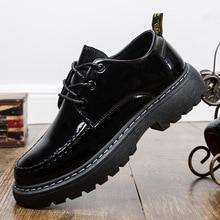 2020 Fashion Men Casual Leather Shoes New Men Flats Cow Split Male Oxfords Sneakers Men Leather Martin Shoes Zapatillas Hombre мужские оксфорды 2015 espadrille mocasines hombre sapato couro cx295 cx295 men flats oxfords shoes page 4