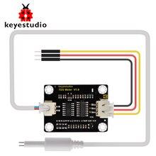 Keyestudio TDS sensörü ölçer V1.0 devre kartı modülü su sayacı filtre ölçüm su kalitesi arduino için unor3