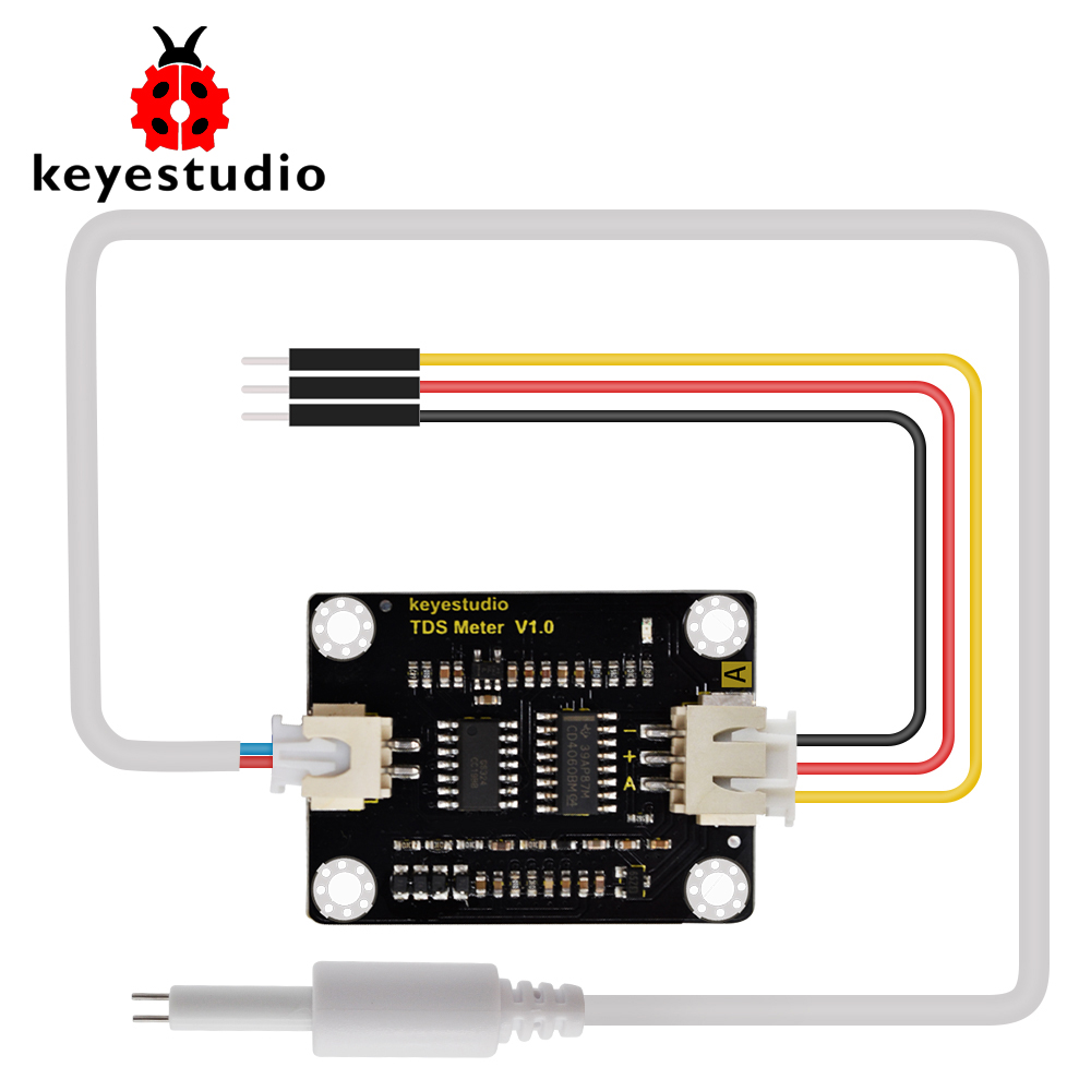 keyestudio TDS Meter V1.0 Board module Water Meter Filter Measuring Water Quality for arduino unor3