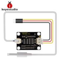 Keyestudio TDS Sensor Meter V 1,0 Bord modul Wasser Meter Filter Mess Wasser Qualität für Arduino Unor3