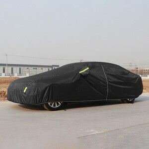 Image 2 - Universal Wasserdichte Volle Auto Abdeckungen Outdoor sun uv schutz staub regen schnee schutz für Subaru impreza wrx XZ BRZ