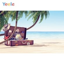 Yeele Vinyl Photophone Beach Seaside Tropical Summer Shell Photo Backgrounds Photo Backdrops Photocall For Photo Studio Props