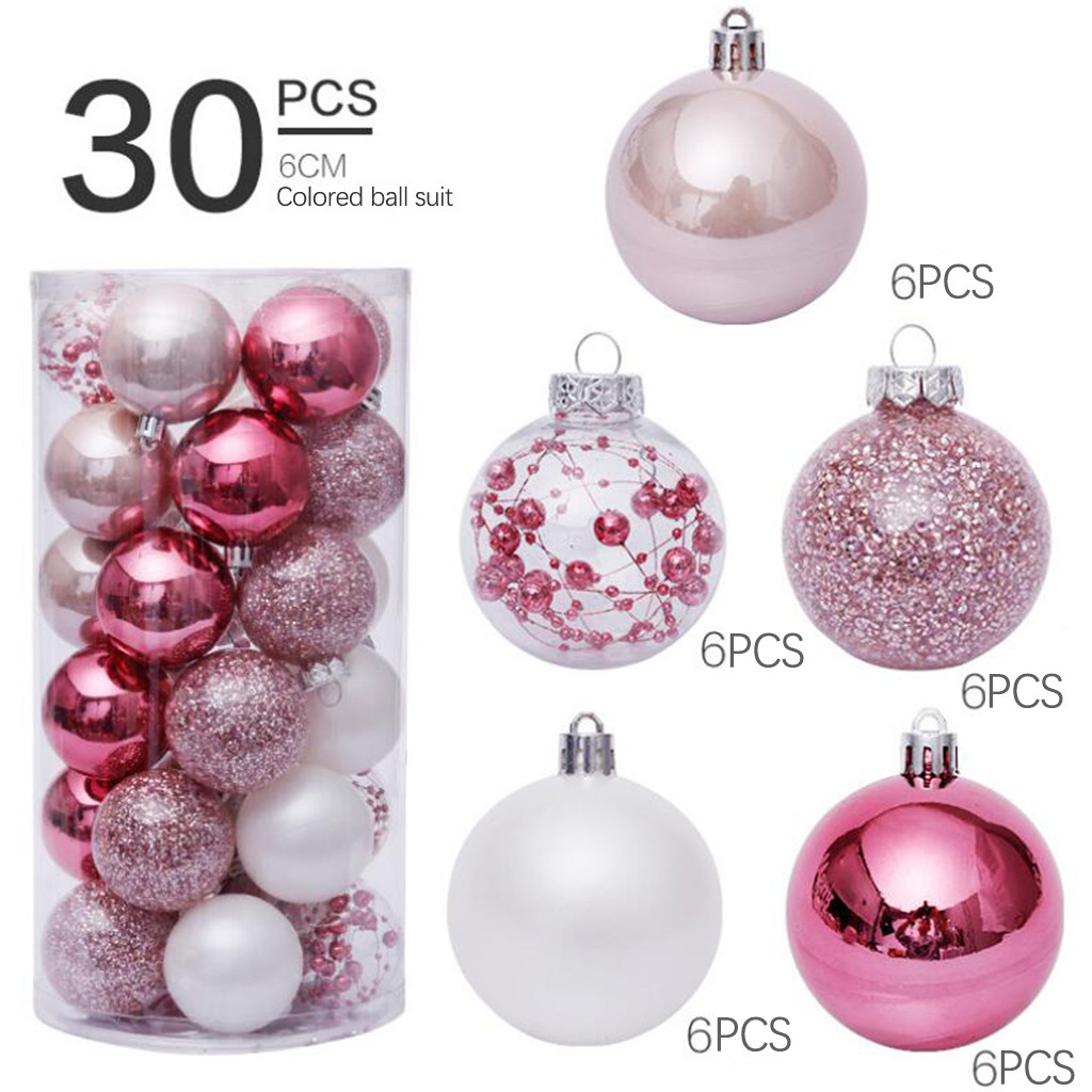 8CA3 Colorful Round Ball Pendant Hanging Decoration Bauble