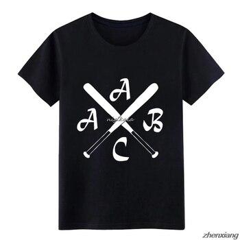 ACAB Kreuz-Camiseta Hipster de béisbol para hombre, de manga corta y cuello redondo Camiseta con estampado, camisa de tendencia auténtica famosa