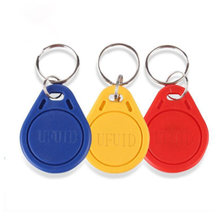 100pcs Handheld 125khz ID Keyfob RFID Tag TK4100 EM4100 Access Control Time Attendance Card Sticker Key Fob Token Ring Proximity