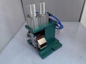 Image 2 - Máquina de descascamento vertical 3f, máquina de descascamento pneumática, máquina de descascamento do fio da multi costa revestida