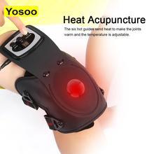 Instrument de physiothérapie infrarouge arthrite des articulations du genou thérapie de soulagement de la douleur réhabilitation électrothermique genouillères masseur