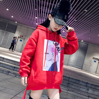 Teenage Kids Sweatshirt Winter Thinck Sport Hoodie Family Matching Cothes Girls Tops Kids Outfits Children Clothes