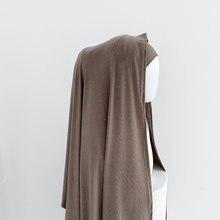 Мусульманский женский хиджаб Джерси 70x180 2021 блестящий материал