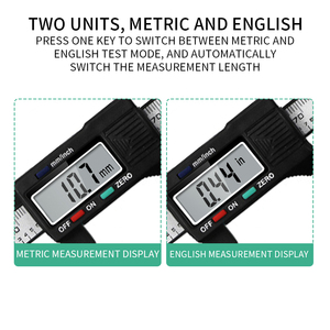Image 5 - New Arrival 150mm 6 inch LCD Digital Electronic  Vernier Caliper Gauge Micrometer Measuring Tool