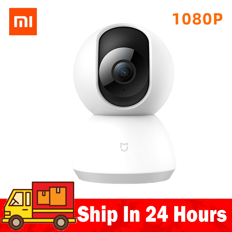 Original Xiaomi Mijia Camera Webcam 1080P 720p HD WiFi Pan-tilt Night Vision 360 Angle Video IP Cam View Baby Security Monitor