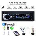 Хэндс-фри в приборную панель автомобиля Радио Стерео Bluetooth аудио плеер 12V авто радио мульти-Функция usb-диск/tf-карта/разъём подачи внешнего си...