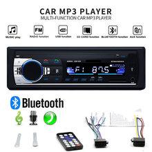 Leitor de música de áudio estereofônico de bluetooth rádio do carro de handsfree in-dash 12v rádio automático multi-função usb-disco/cartão tf/adaptador aux-in