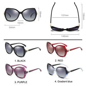 Image 3 - SIMPRECT Polarized Sunglasses Women 2020 Oversized Sunglasses Retro Square Sun Glasses Luxury Brand Designer Shades For Women