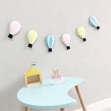 Мультяшная Детская комната украшения воздушный шар дома гирлянда фетр дети висячие украшения фотографии реквизит домашний декор