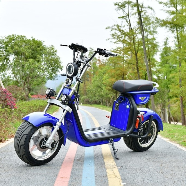 2000W 20AH Two Wheels Cost-Effective Unique Design Best Quality Popular Citycoco Electric Scooter  Electric Motorcycle 5