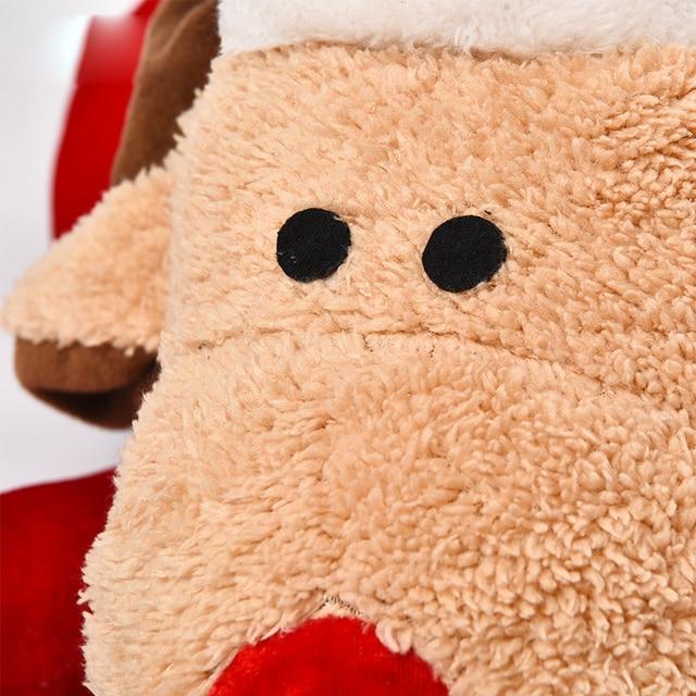 Кровать для собак люкс ортопедический традиционный коврик Рождество в форме оленя степ-на пены матрас кровать для домашних животных