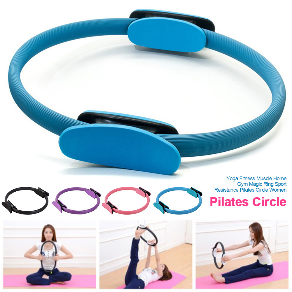Pilates Circle Professional Workout Training Women Muscle Accessories Tools Magic Ring Gym Sport Resistance Home Yoga Fitness